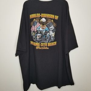 Harley-Davidson Shirts - Harley Davidson 2 sided Panama City FL. Size 5 XL